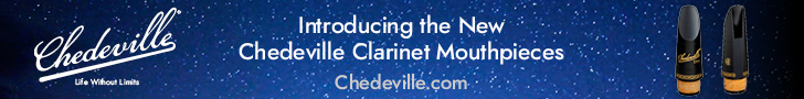 chedeville clarinet – top leader