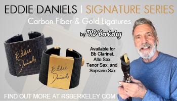 Eddie Daniels ligature home page sidebar