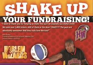 harlem wizards – Fundraising After Slide Ad