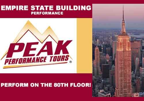 PEAK Empire State Building Performance New York – Festivals Performance Lower Ads Col3