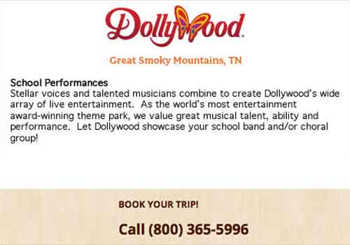Dollywood Parade – Parades Lower Ads Col2
