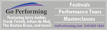 Go Performing Concert Band – sidebar