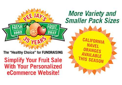 PeeJays – Fundraising After Slide Ad