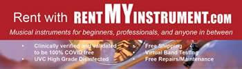 Rent my instrument mobile – brass wind