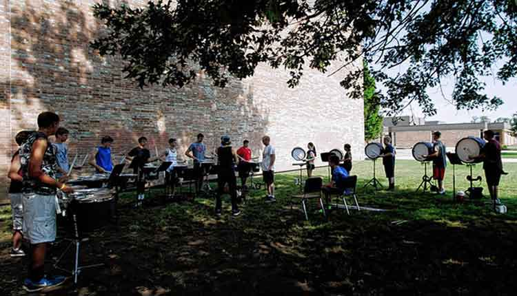 Stay Cool During Summer Marching Band Camps – Band Director