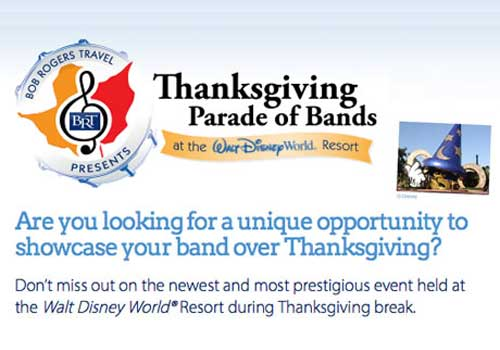 Thanksgibing Prade of Bands at Walt Disney World – Festivals Performance Lower Ads Col1