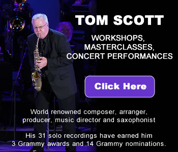 Tom Scott jazz band sidebar